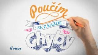 Gumovací pero #Pilot #Frixion - Napiš! Vymaž! Přepiš! :) #happywriting #PILOTPENcz - YouTube