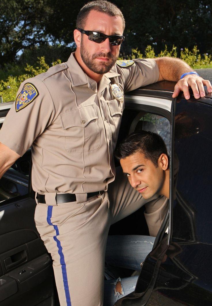 hot gay police officer