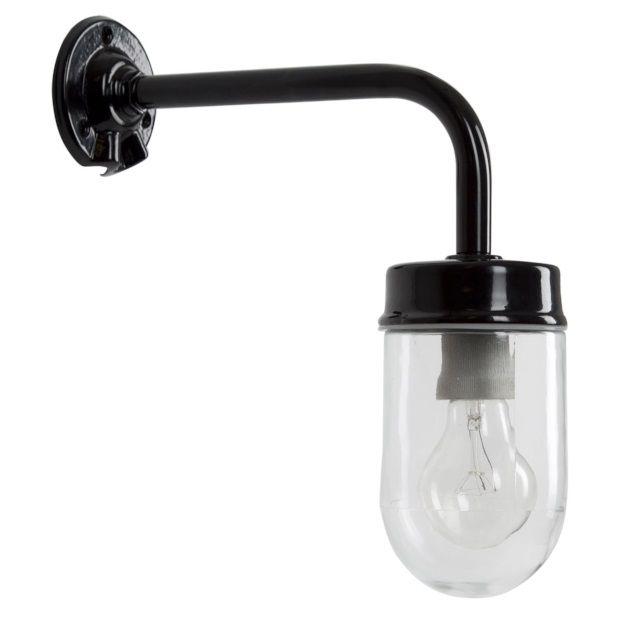 K.S. Verlichting Wandlamp Genius - Zwart - afbeelding 1