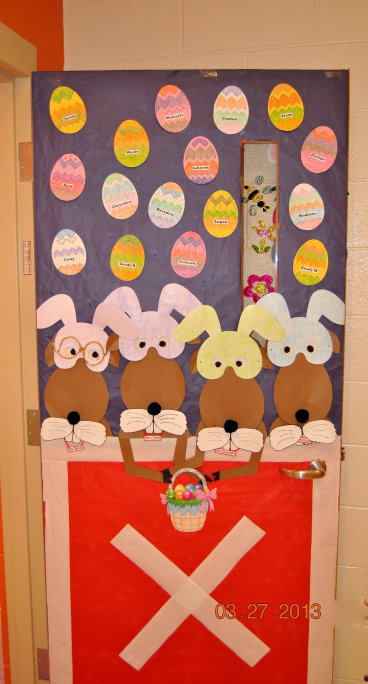 Classroom Ideas For Easter ~ Best easter bulletin boards images on pinterest