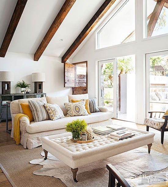 518 best Design Trend Rustic-Modern images on Pinterest Living - rustic living room decor