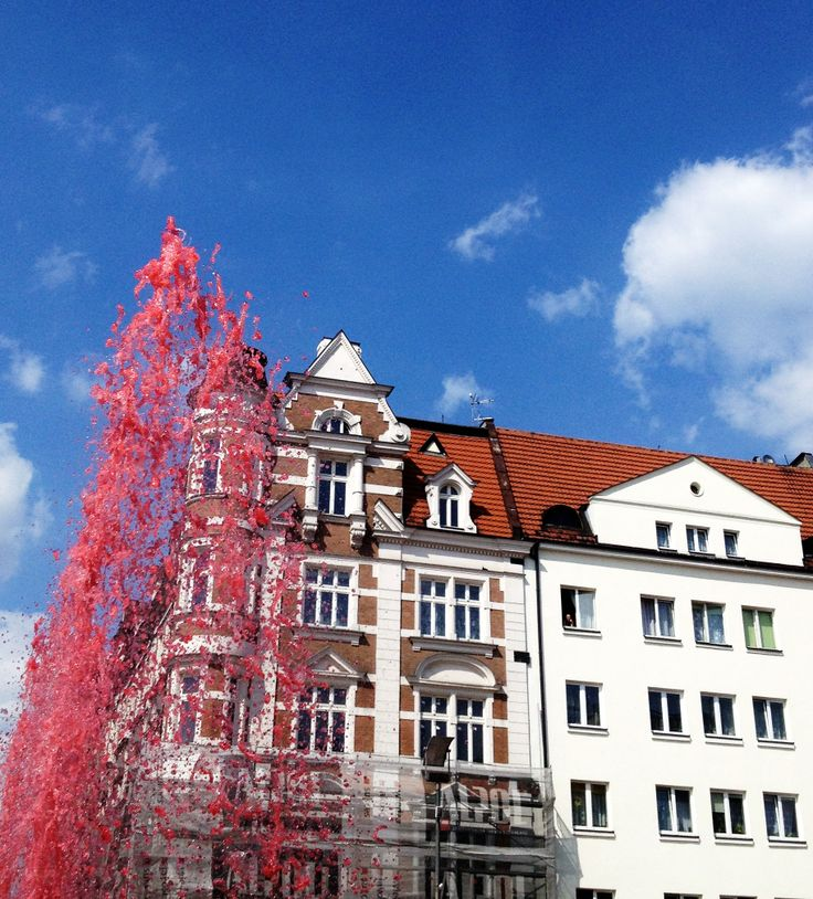 #BYTOM Rynek, fontanna #townhouse #kamienice #slkamienice #silesia #śląsk