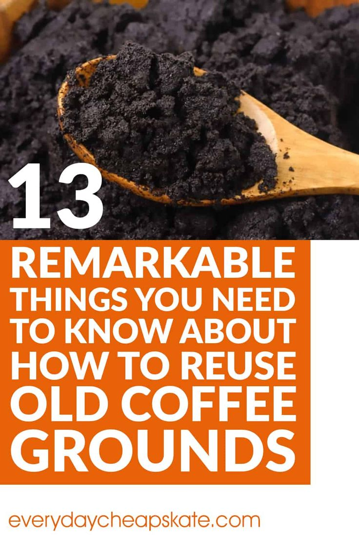 13 Things You Need to Know About How to Reuse Old Coffee