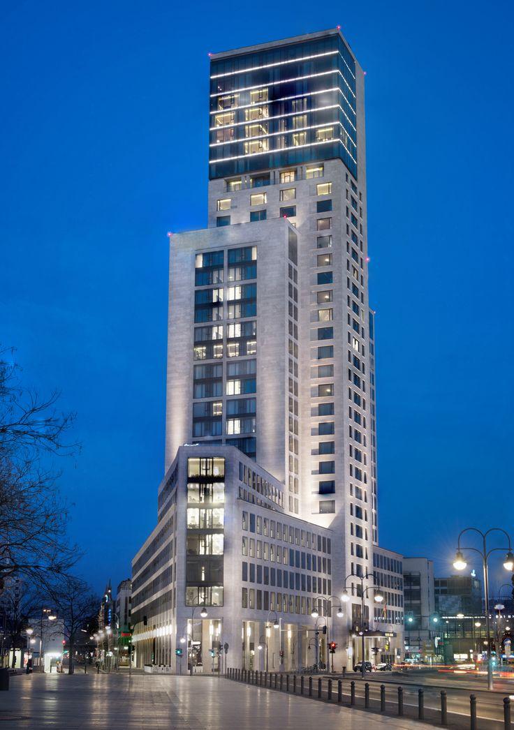 Cool Waldorf Astoria Berlin at night