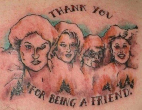 Ok, you know how I said I felt conflicted about loving/hating the other GG tattoo on this board? No conflict here. This is AWFUL. Why? WHY?