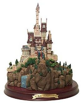 WDCC Disney Classics Beauty And The Beast Beast's Castle # #Art Beast's Castle was released as part of the Enchanted Places.  Hand engraved serial number.