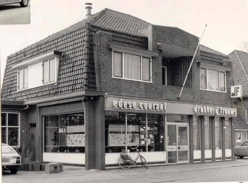 Drukkerij Frouws Stationsweg 1961