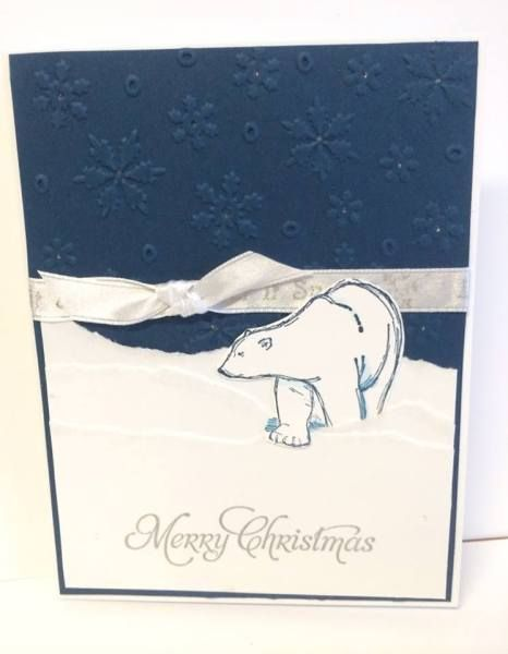 Polar Bear Merry Christmas