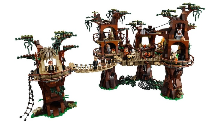 yub nub!! Lego unveils Ewok Village set for all your Lego Ewok massacre needs