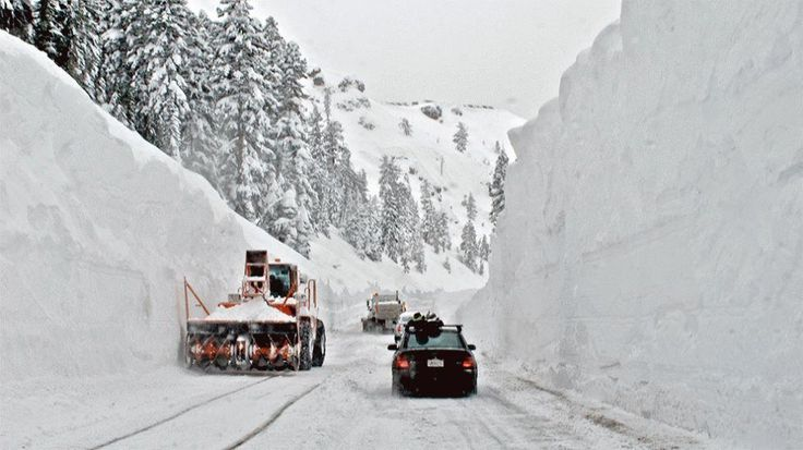 The most amazing snowfall totals ever recorded in the United States.