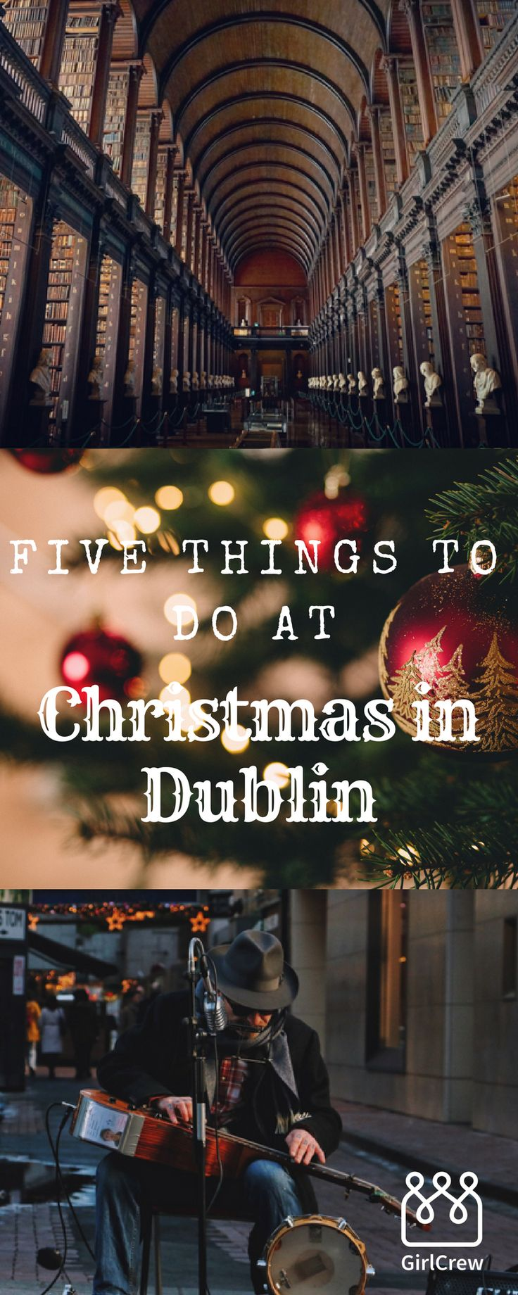 It's the time of year when we can finally mention the C word, Christmas. We've picked six of the best things to do in Dublin.