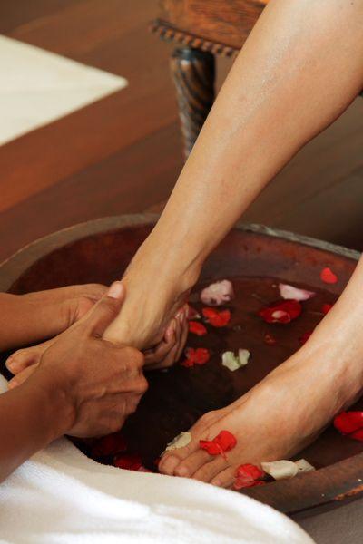 Welcome foot Bath