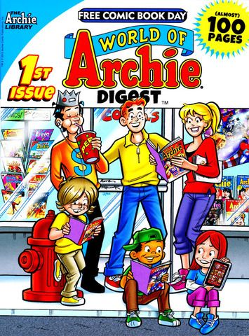 World of Archie Digest 1, Archie Comic Publications, Inc. https://www.pinterest.com/citygirlpideas/archie-comics/