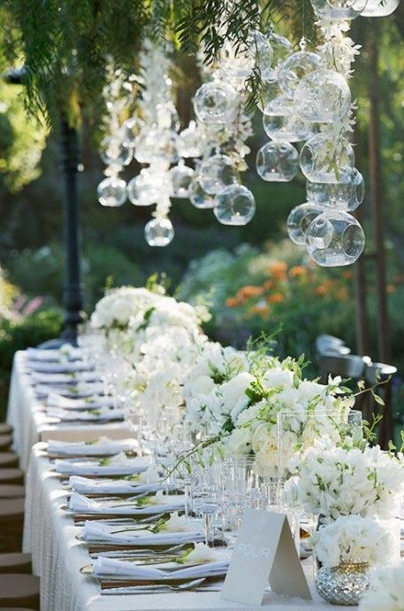 mariage blanc decoration