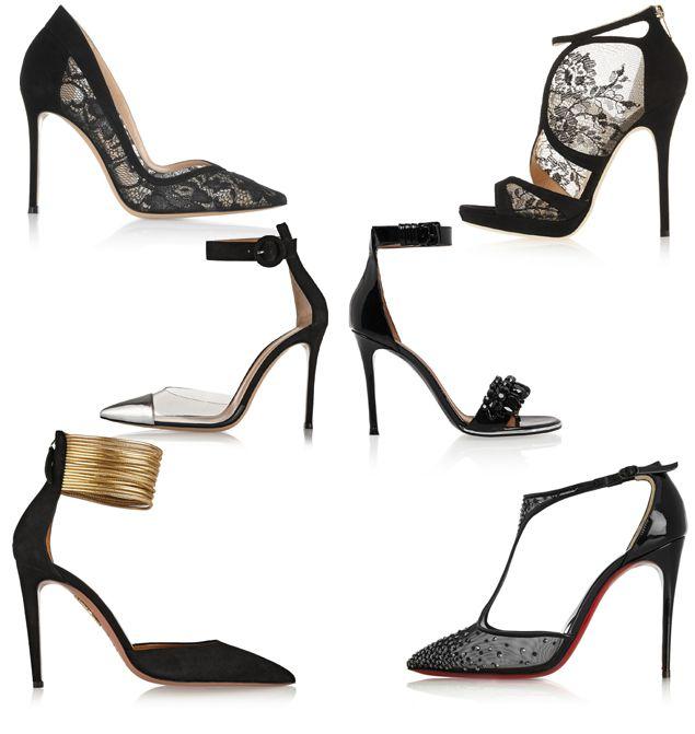 Siyah giyenler ya da desenli elbisesinin içinde siyah renk olanlar için önerilerimden biri siyah ayakkabılar. Eğer oldukça sade bir siyah elbise seçtiyseniz ve baştan aşağı siyah olmak istiyorsanız taş, altın, gümüş ya da dantel detaylı bir seçim yaparak hareketlendirebilirsiniz. Bu kombinleri oldukça ışıltılı takılarla hareketlendirmeyi unutmayın! Eğer biraz daha desenli bir elbiseniz varsa sade bir siyah ayakkabı ile daha göz yormayan bir tercih yapmış olursunuz. Çanta konusunda ise yine…