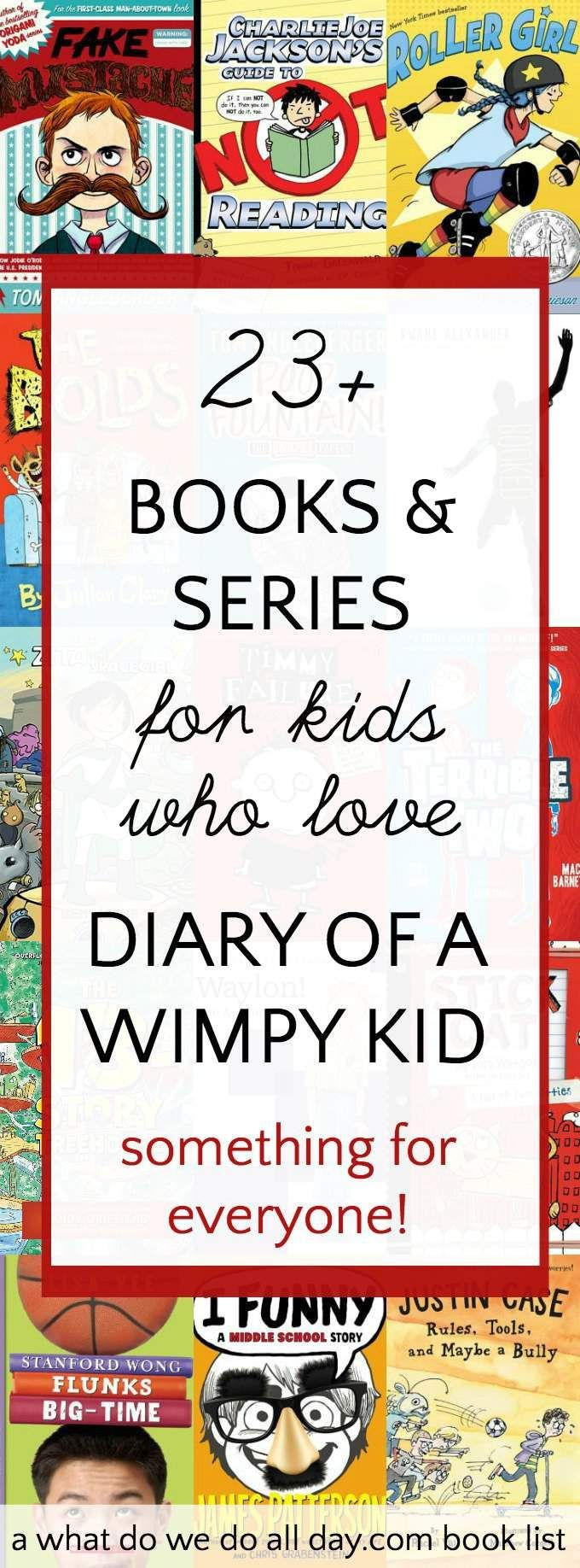 Best books for kids who like Diary of a Wimpy Kid