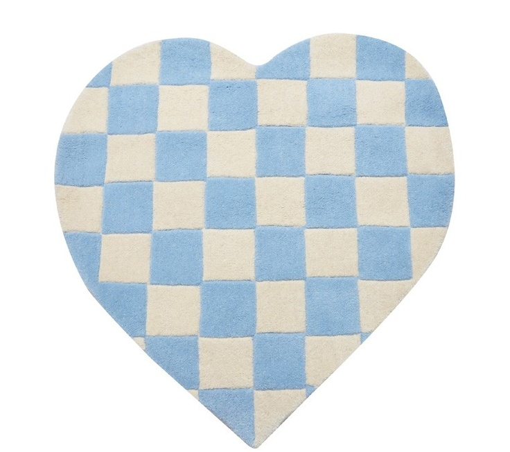 Pin by Everis Belding Hough on Hearts Rugs, Kids rugs, Blue