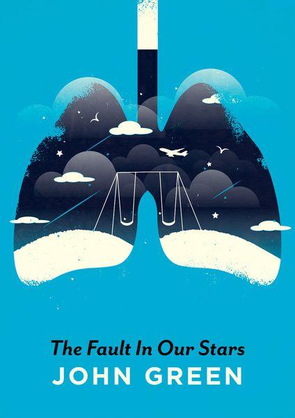 TFIOS Art Print by Risa Rodil, via Society 6 #FaultinOurStars #JohnGreen #books