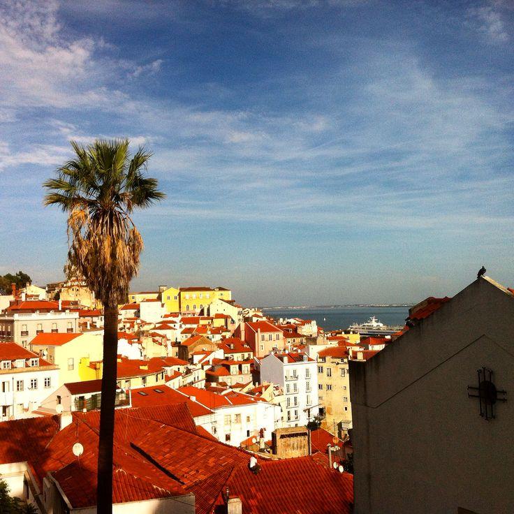 Lisboa from upstairs