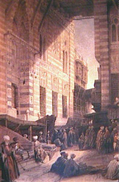 Bazar of the silk mercers