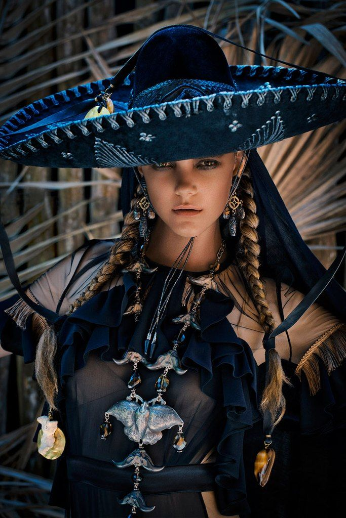 big mexican hat and braids