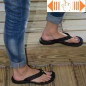 Olukai \'Ohana Women\'s Flip Flops - Black - Black
