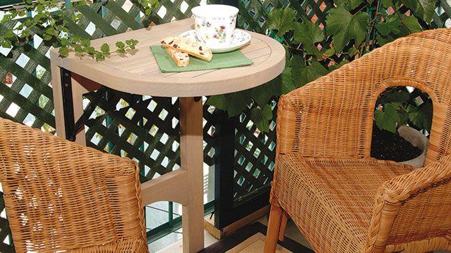 17 best ideas about table de balcon on pinterest table - Table balcon pliante ...