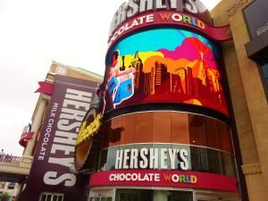 88 things you should be doing in Las Vegas from the best shows, restaurants and hotels on the strip.: Get Your Chocolate Fix At Hershey's Chocolate World