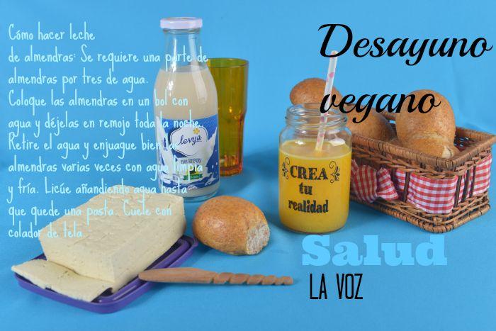 Quienes no consumen productos de origen animal, tienen opciones deliciosas para empezar el día.