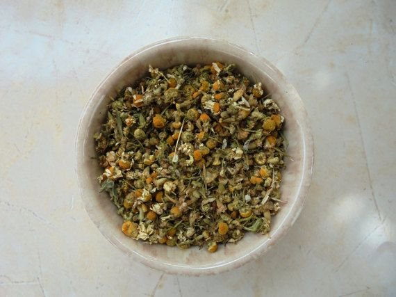 Chamomille  Dried Herb  Organic Greek herb 1.7 oz by MelirrousBees