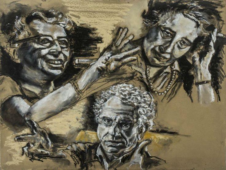 """O Centro da Cultura Judaica apresenta a mostra """"Fusões"""", criada pelos artistas plásticos Gregório Gruber e Debora Muszkat, entre 10 de setembro e 9 de fevereiro de 2014. A mostra apresenta obras trabalhadas, em dupla, por mais de um ano e integra as comemorações de 10 anos da sede da instituição."""