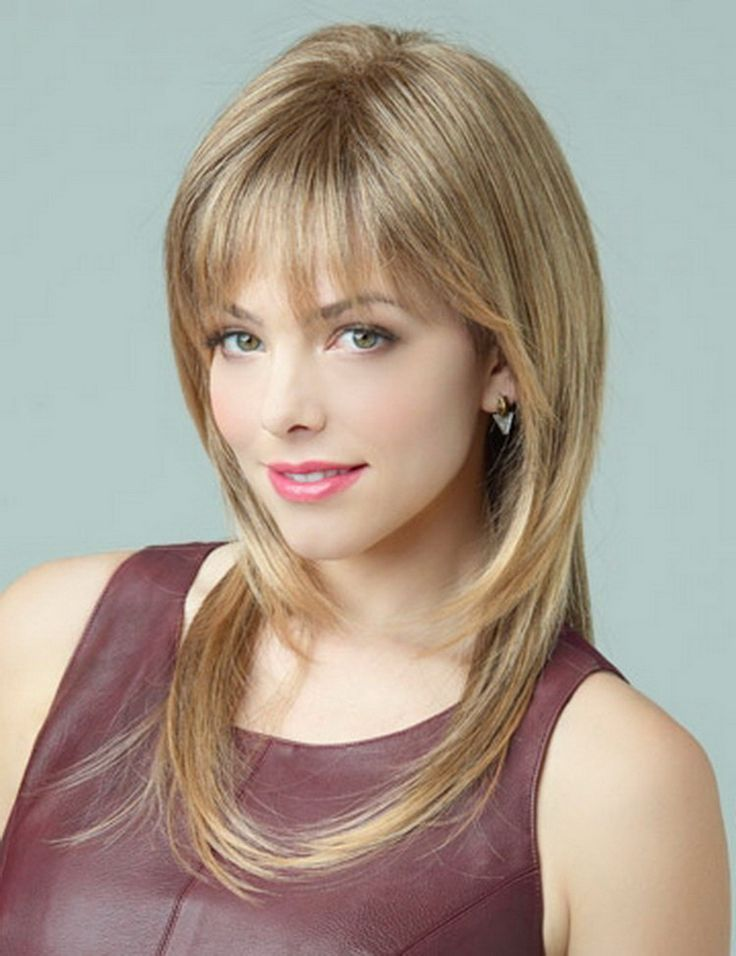 """New arrival 16"""" fashion sexy natural hairline 2015 Heat Resistant Synthetic hair long straight blonde wig for women"""
