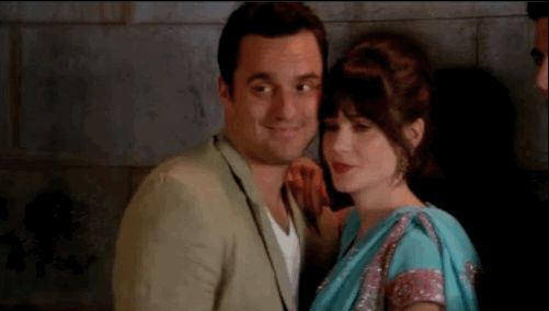 "When that perfect couple photo almost happened. | 17 Times You Couldn't Contain Yourself During The Season Finale Of ""NewGirl"""