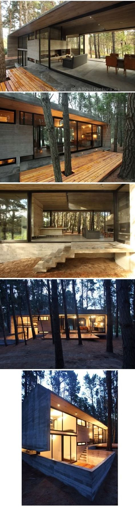 Container House - casa-hormigon_visto-bosque-2 - Who Else Wants Simple Step-By-Step Plans To Design And Build A Container Home From Scratch?