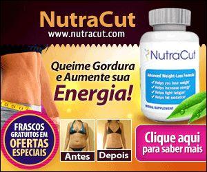 NutraCut - Queimador de gordura, emagrecedor, perda de peso.