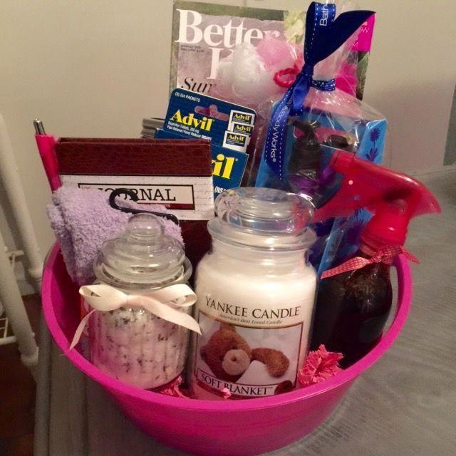 New Mommy Survival Kit DIY Lavender Linen Spray And Lavender Sugar Scrub Gift Ba…