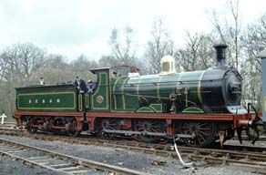 South East & Chatham C Class 0-6-0 by Wainwright at Longhedge Works, Battersea