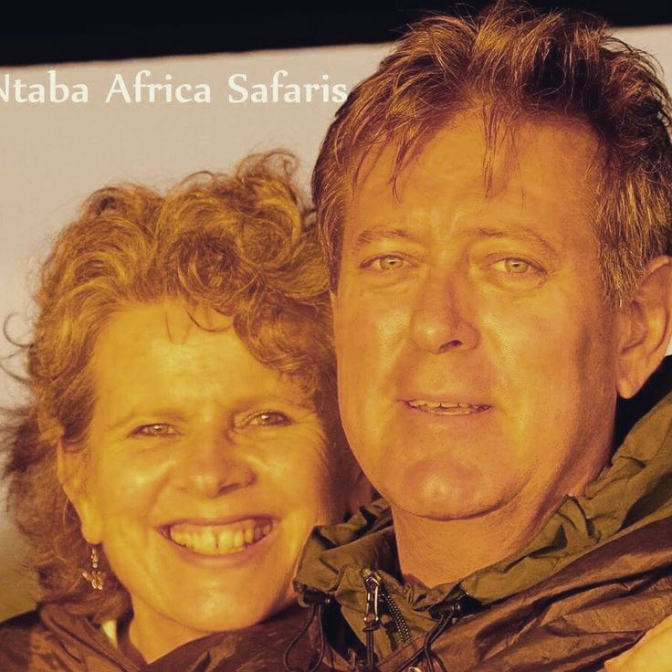 Robin and Stella Mountain founders and Owners of Ntaba African Safaris. .  www.ntabaafrica.com