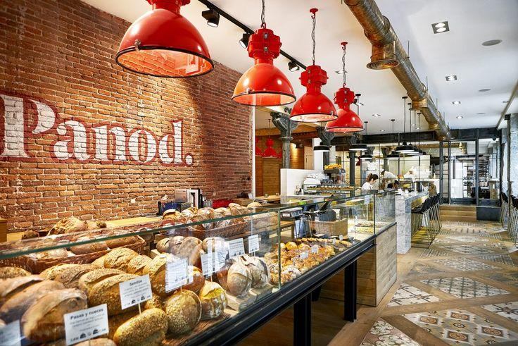 Panod, el mayor obrador de pan a la vista de Madrid, es un proyecto de Marta Banús Arquitectura en colaboración con eat&love Studio.