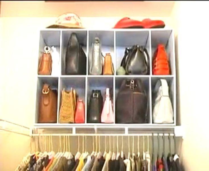 best 25  purse organizer closet ideas on pinterest