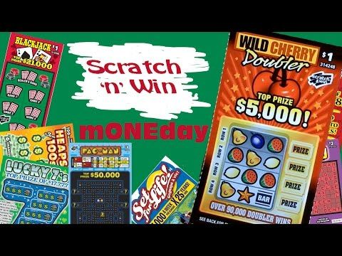 Scratch n Win mONEday Wild Cherry Doubler - YouTube