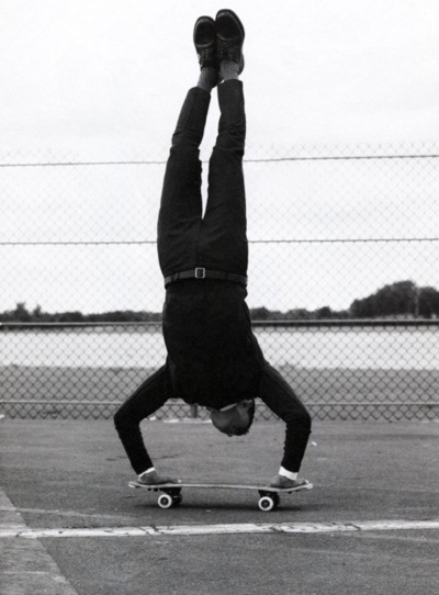 skate handstand.: Style, White, Skateboard, Boy, Photography, Black
