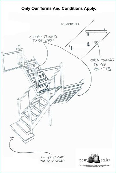 Rollswood Glass Staircase - Design