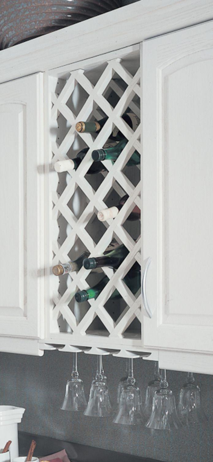 Best 25 wine rack cabinet ideas on pinterest for Diy wine lattice