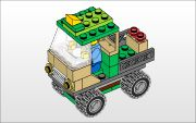 Printable step by step instructions that kids can follow to build different lego creations.