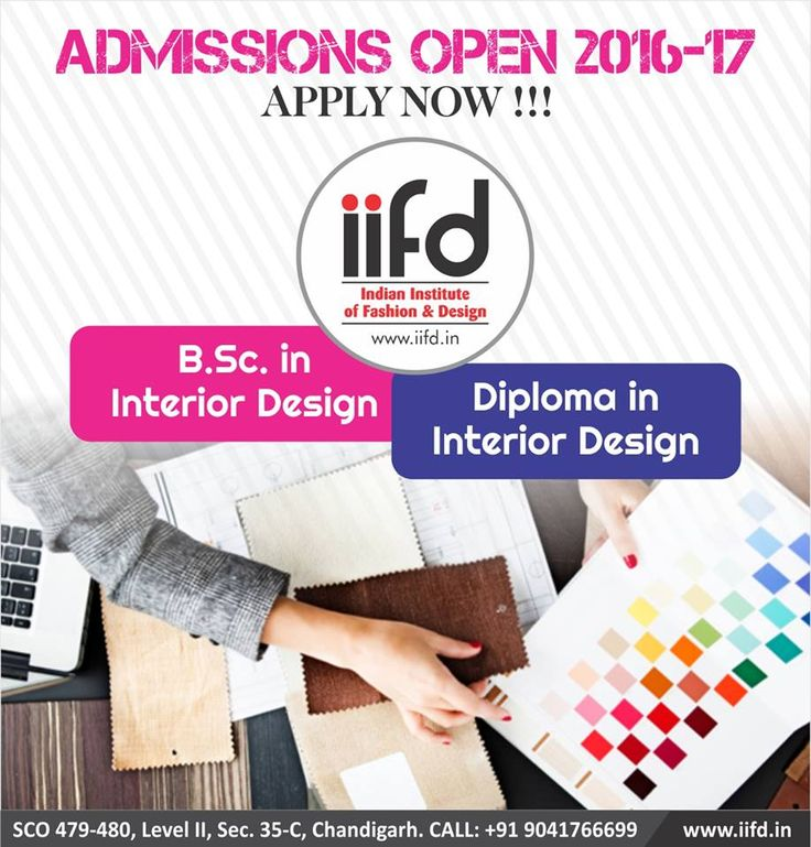 Admission Open In Best Fashion Designing Institute Join IIFD Fill Online Application Form Interior