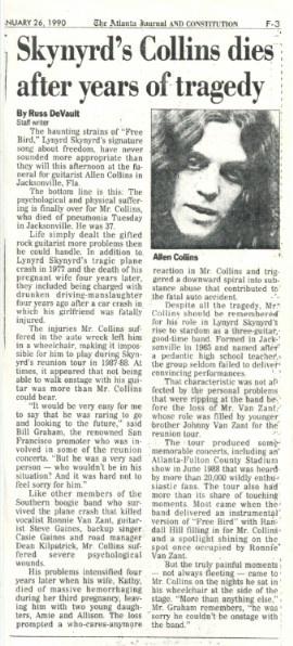 Allen Collins biography