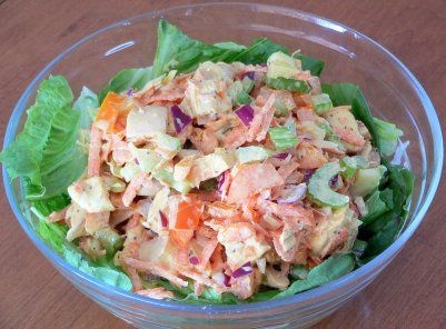 Chicken Salad. Don't use Malt Vinegar. | FOOD stuff | Pinterest
