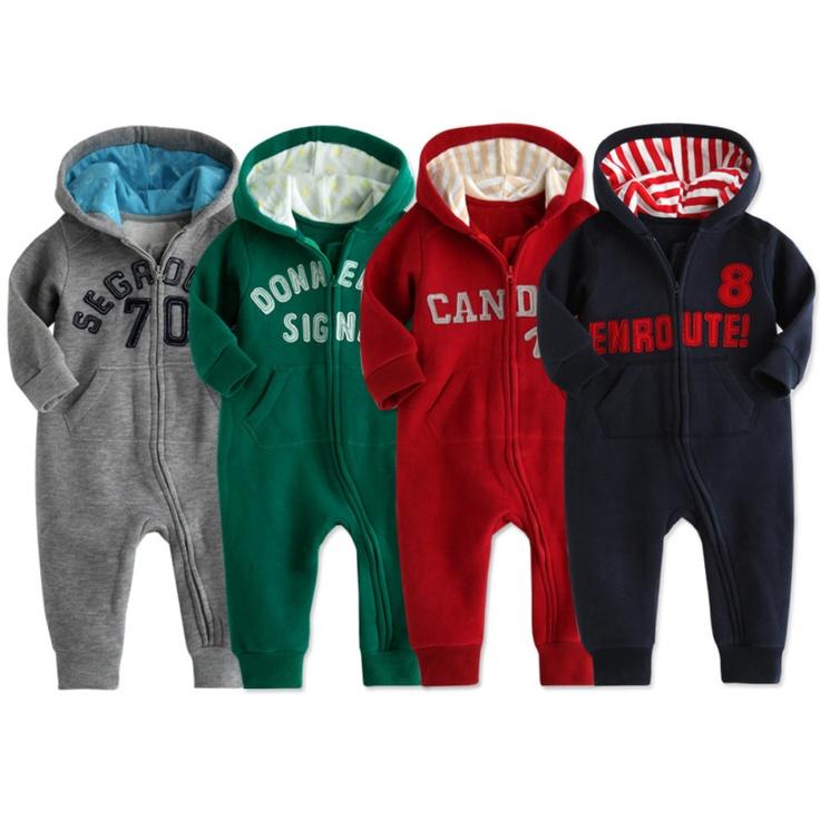 nwt vaenait baby newborn infant boy fleece jumpsuit onepiece hoodie