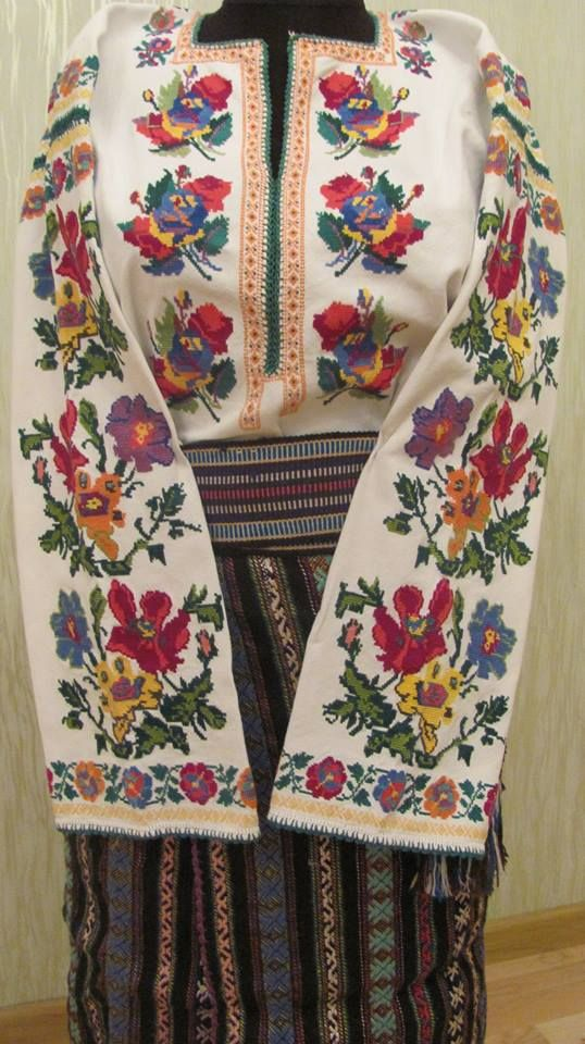 Europe - Ukraine. Vyshyvanka is the Ukrainian traditional clothing which contains elements of Ukrainian ethnic embroidery. Many variations of its design were created. Usually it was made of homemade linen which was produced by loom. Local features are usually represented in the shirt's ornamental pattern.
